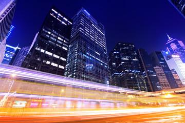 Traffic trafic with Hong Kong