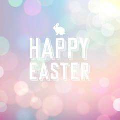 Easter Bokeh Background
