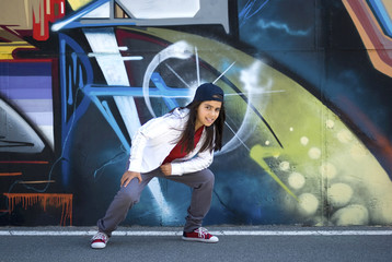 Young dancer Hip-Hop