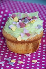 Muffin mit Streusel