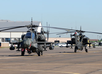 Military attack helicopters