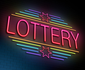 Lottery concept.