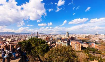 picturesque Barcelona cityscape, Spain