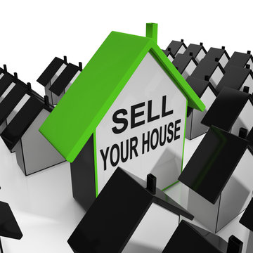 Sell Your House Home Means Marketing Property