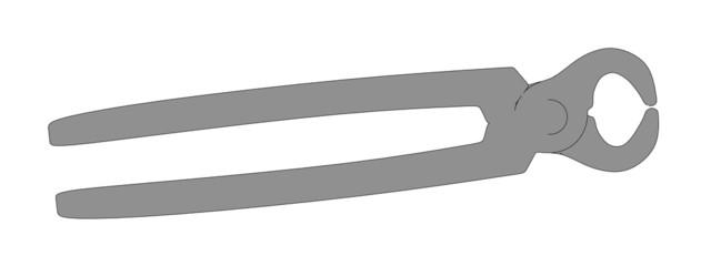 cartoon image of blacksmith tool
