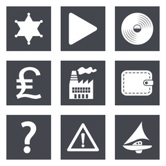 Icons for Web Design set 24
