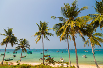 turquoise sea on Phu Quoc
