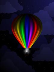Balloon At Night