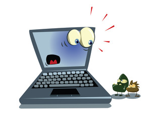 laptop and viruses