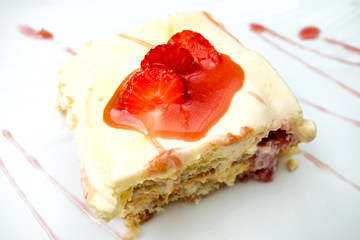 one slice of pie dessert