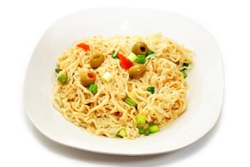 Fancy Ramen Noodle Dish
