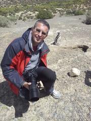 Fotografo a Punta Tombo