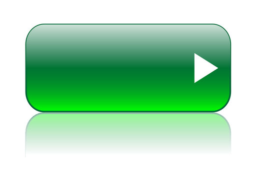 GREEN BUTTON TEMPLATE (website internet web blank arrow vector)