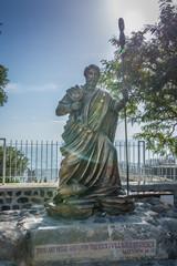 Leinwandbilder - Peter statue