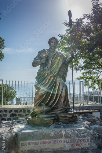Fototapete Peter statue