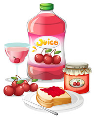 Cherry fruits and its uses