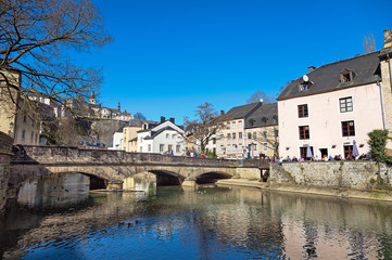 Wall Mural - Sunny day in Luxembourg