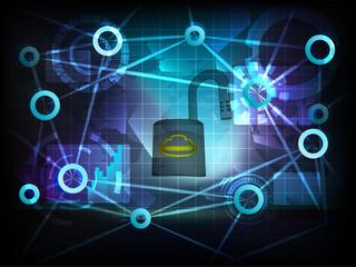 open data in business world transfer network vector