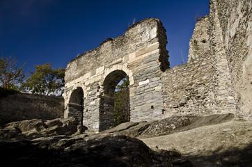 Roman aqueduct in the city of Susa