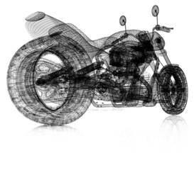 3d sport bike background