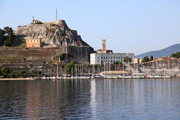 View of Kerkyra (Corfu). Greece.