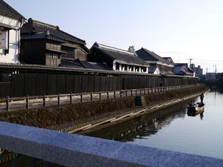 小京都栃木の夕暮れ
