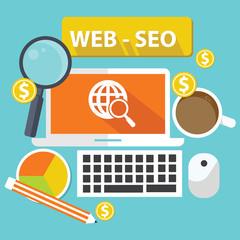 Web - Seo concept,vector