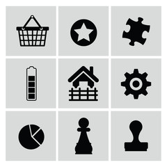 Web icons,vector