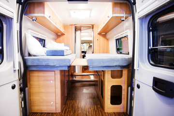Bedroom of Modern Camper