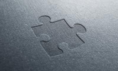 jeans text puzzle