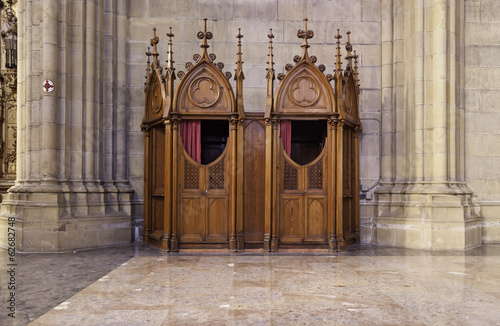 catholic confessional - 500×327