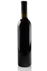 Bottle of red wine.