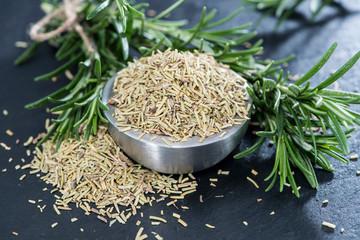 Heap of dried Rosemary