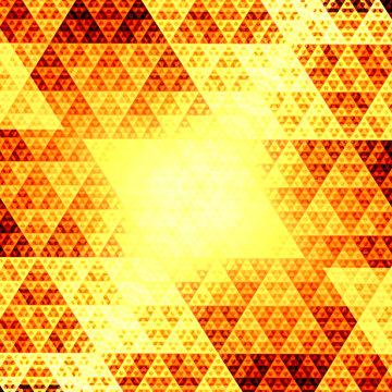 Glowing Sierpinski Fractal
