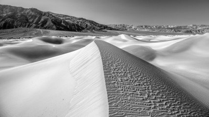 Mesquite sand dunes in Death Valley National Park, California