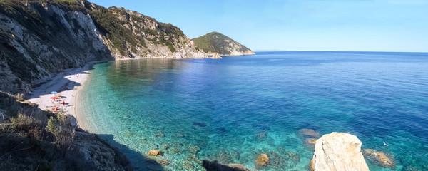 Elba Island, the sea view