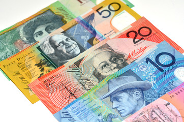 Australian Dollar bank notes