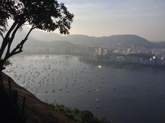 Guanabara bay sunset, Rio de Janeiro