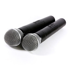 Two microphone wireless