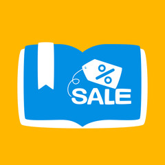 book with a sale