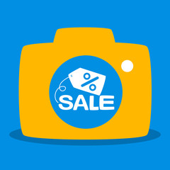 reflected in the camera sale
