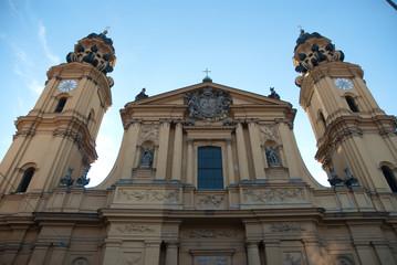 Eglise des Théatins à Munich