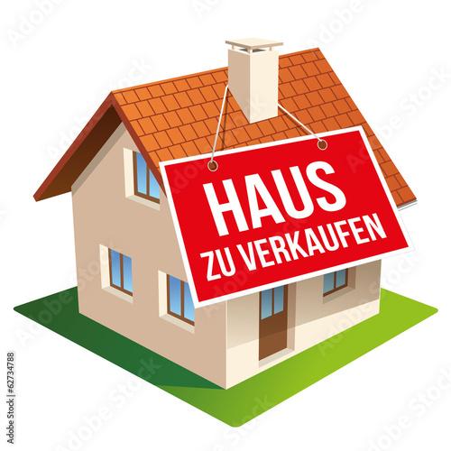 """""""Haus Zu Verkaufen"""" Stockfotos Und Lizenzfreie Vektoren"""