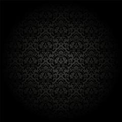 damask pattern. vector seamless wallpaper. flower background