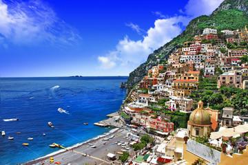scenic Amalfi coast of Italy. Positano
