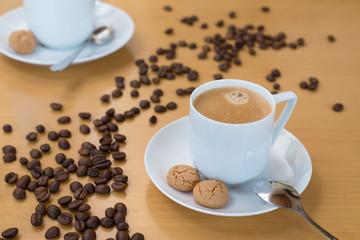 Espresso mit Amerettini