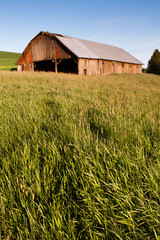 Farm Industry Equipment Enclosure Building Barn Palouse Country