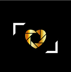 Photography logo- wedding photography or matrimony services