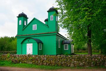 Wooden Muslim Mosque in Kruszyniany, Poland