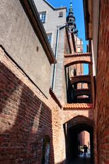 Elblag City streets - Church Path
